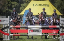 Kiwis ruled in the Trans-Tasman Young Rider Test